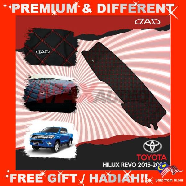[FREE Gift] TOYOTA HILUX REVO 2015 DAD GARSON VIP Non Slip Dashboard Cover Mat