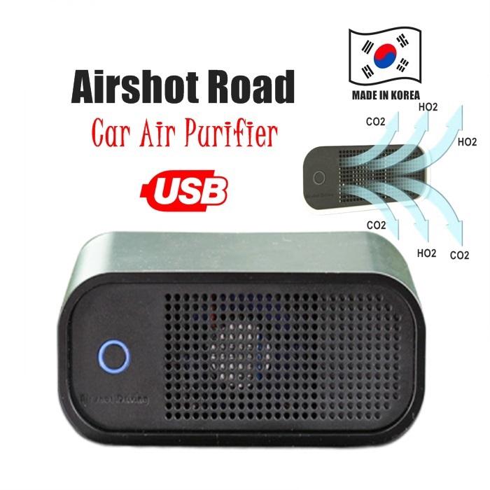 AIR SHOT Road Air Purifier Cleaner Fresh Clean Living House Office Room LED