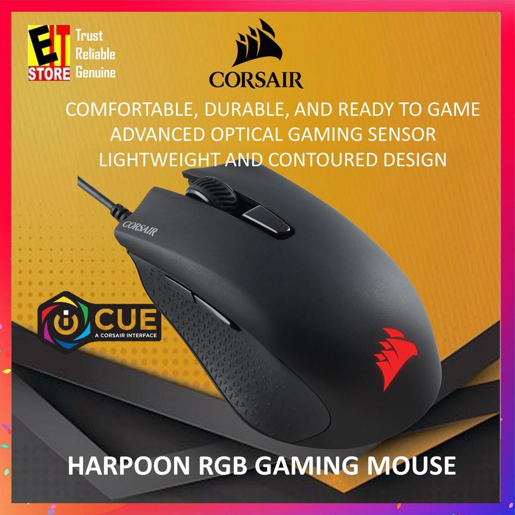 CORSAIR HARPOON RGB GAMING MOUSE CH-9301011-AP
