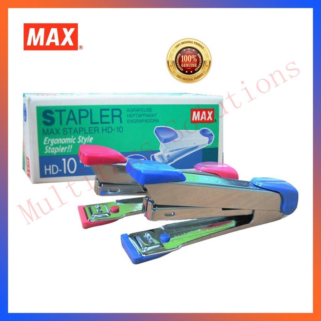 *Original* MAX Stapler HD-10 / No.10 Tokyo Design HD 10 Use Max No.10-1M staples