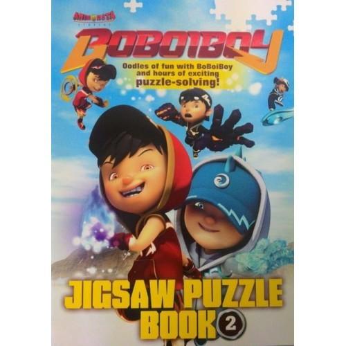 Boboiboy : Jigsaw Puzzle Book 2 (L189,R15,BL189)