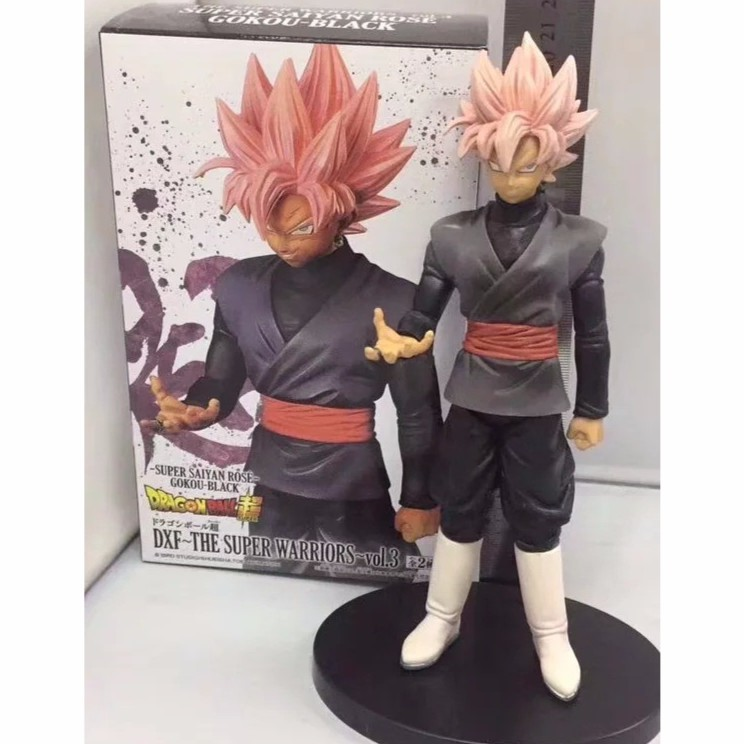 Action & Toy Figures 13-20cm Anime Dragon Ball Z Figure Soul X Soul Dbz Super Saiyan Black Son Goku Trunks Pvc Action Figure Model Toys Dolls Vol.2 Beautiful In Colour