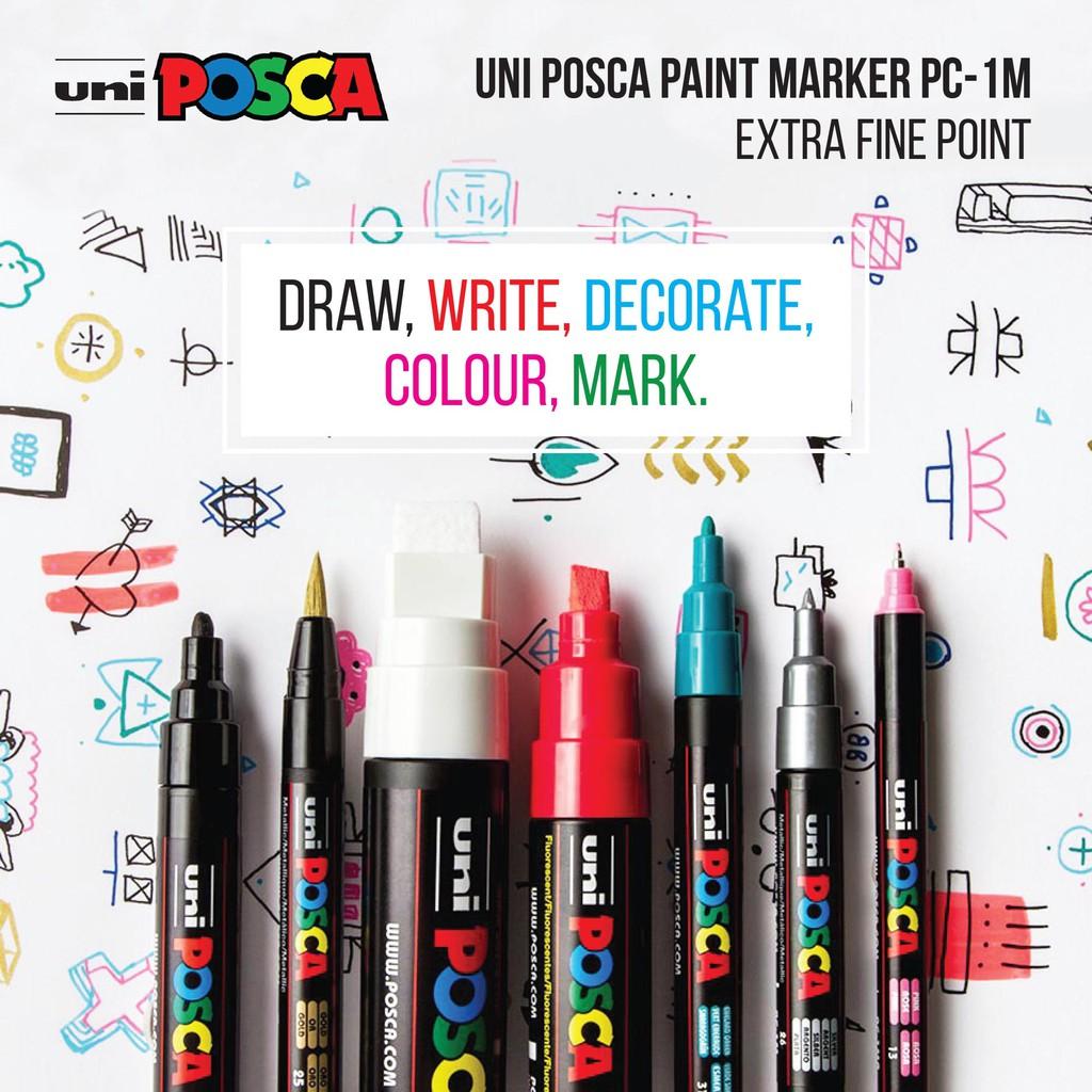 Artline Paint Markers Craft Scrapbook Posca Uni Zig