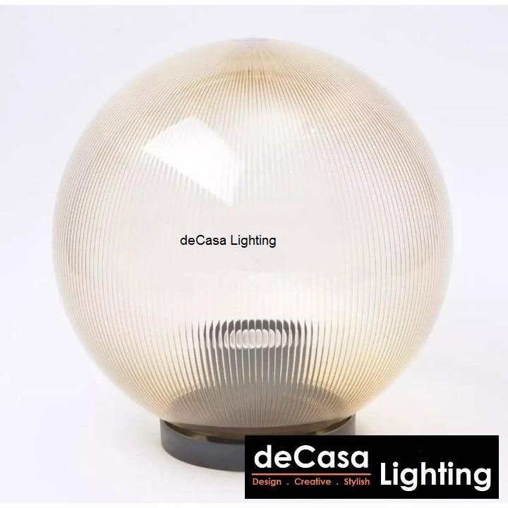 D250mm Best Buy Outdoor Globe Light Decasa Lighting Outdoor Gate Lamp Outdoor Pillar Light Outdoor Lighting (GLOBE-250)