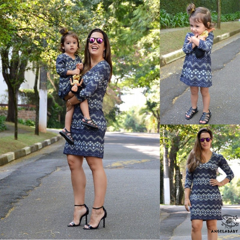 🌹Mother Daughter Boho Clothes Parent-child dress Family Matching Outfits🌹