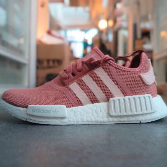 huge selection of 394f7 5eb82 purchase adidas nmd runner w salmon raw pink nails 3e5de 027ef