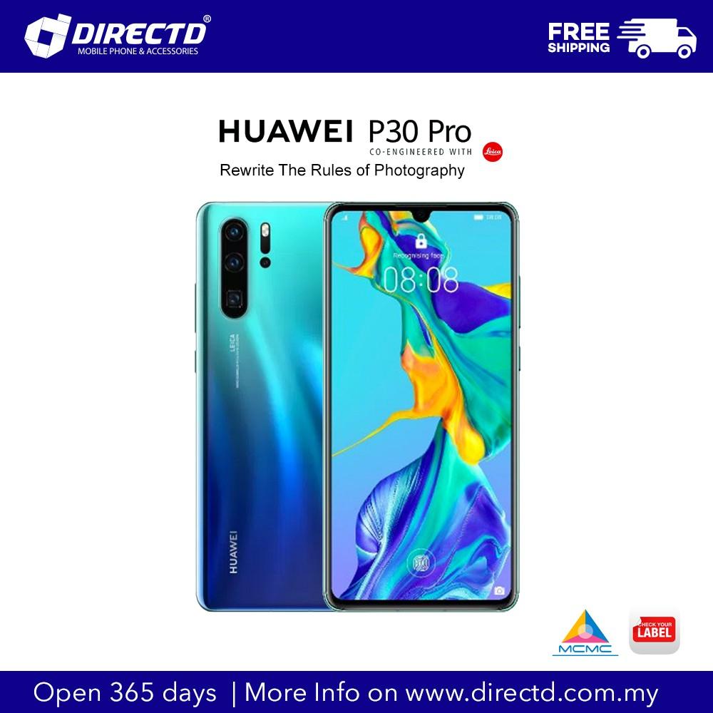Huawei P30 pro (8GB RAM+512GB ROM)- Amber Sunrise/Aurora- HUAWEI MALAYSIA WARRANTY