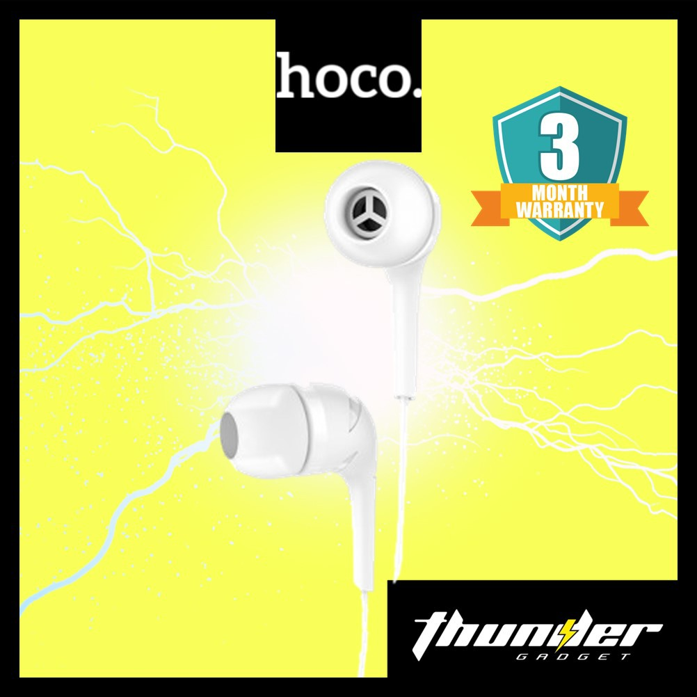 HOCO M40 HOCO Prosody Universal Earphones With Microphone High Quality Earphone