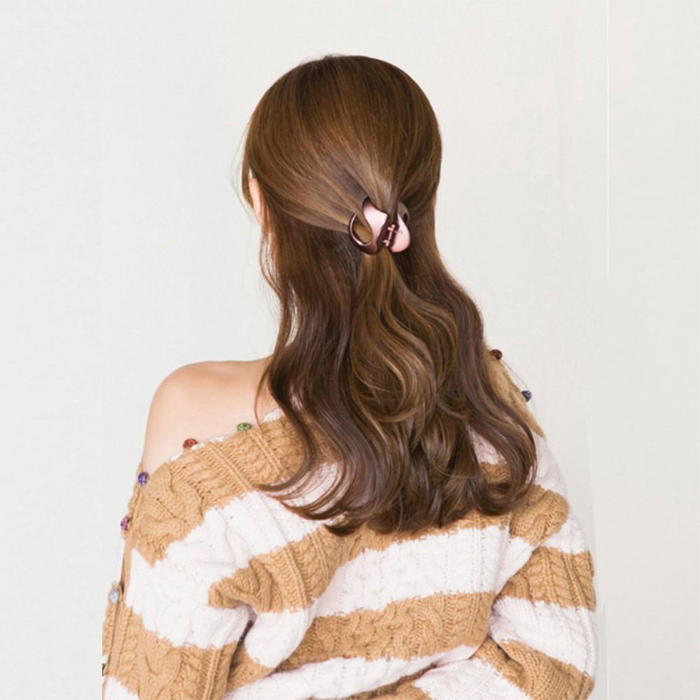 Elegant Women Head Hair Clips Claw Barrette Crab Clamp Korean Style Hairpin