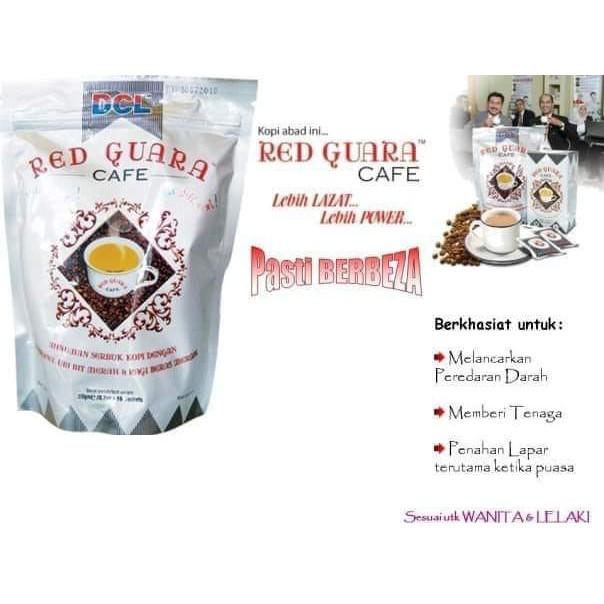 RED GUARA CAFE 100% ORIGINAL HQ + FREEGIFT