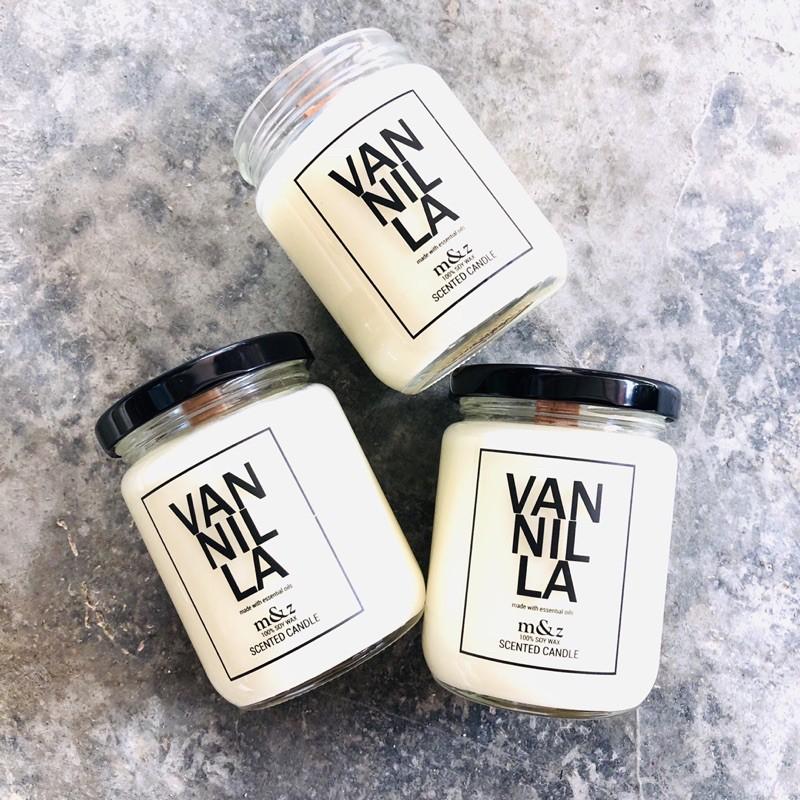 M&Z - Sweet Vanilla Candles