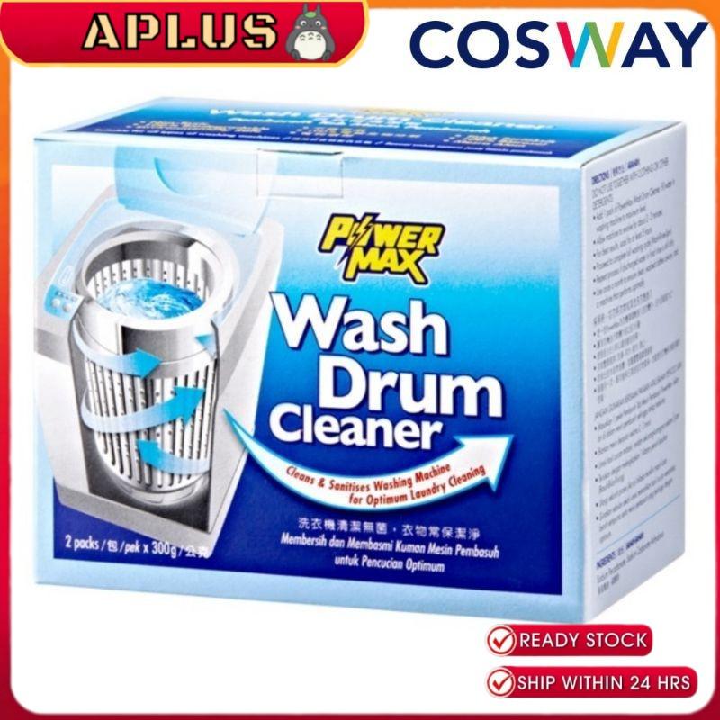 08120 Cosway PowerMax Wash Drum Cleaner Sabun Pencuci Mesin Basuh (2 x 300g)