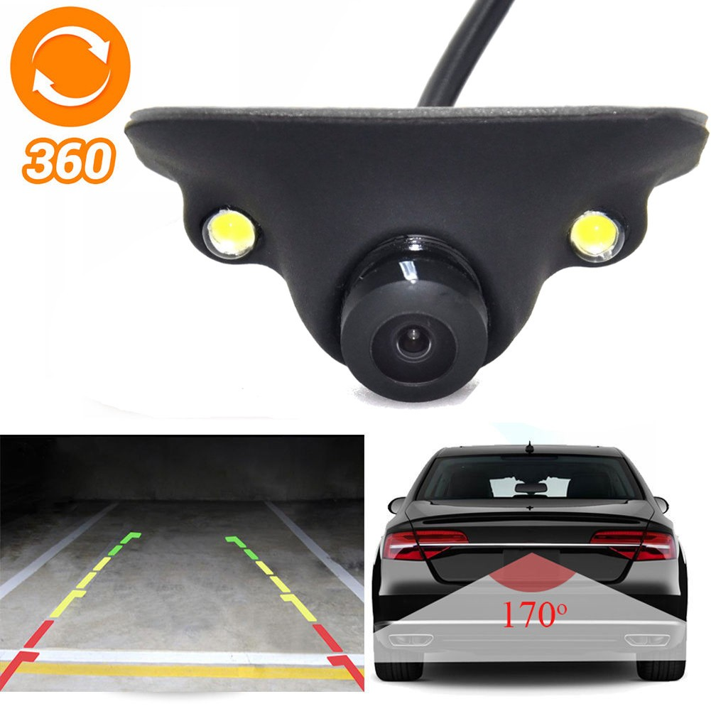 Wide Degree CCD Car Front View Camera Logo Embedded for Honda Civic 2016-2018 17