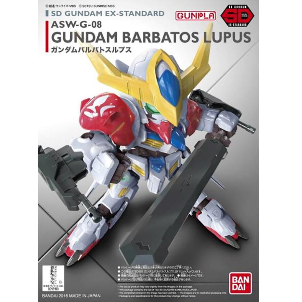 bandai sd ex standard asw g 08 gundam barbatos lupus mobile suite