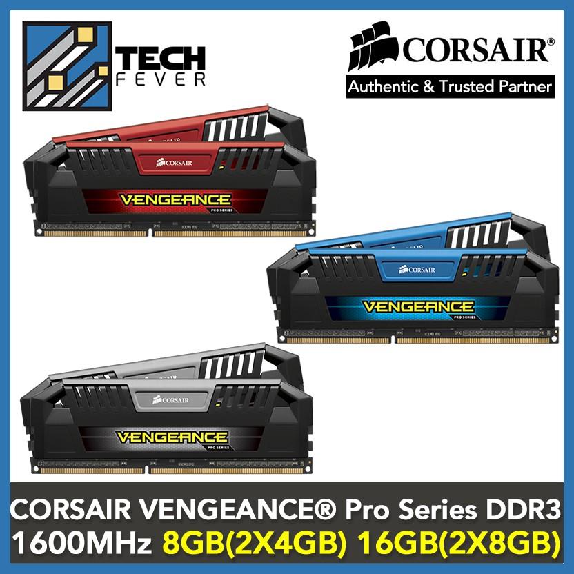 CORSAIR VENGEANCE® Pro Series — DDR3 DRAM 1600MHz C9 Memory Kit
