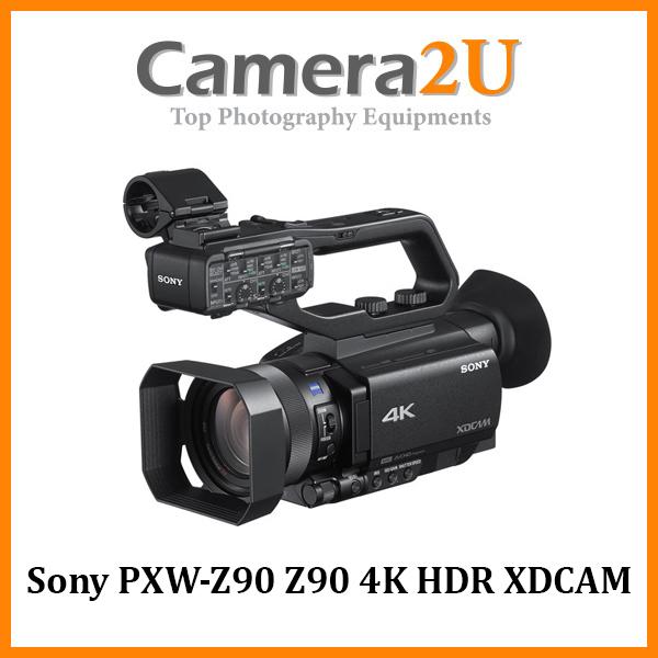 Sony PXW-Z90 4K HDR XDCAM With Fast Hybrid AF Video Camcorder (Malaysia Warranty) PXW-Z90V / Z90 V