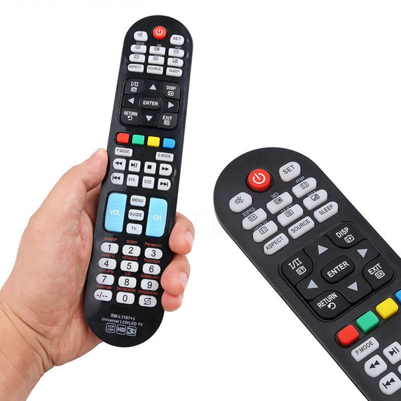1XBlack Remote Control Controller W/ Learning Function For TV SANYO/SONY TCL