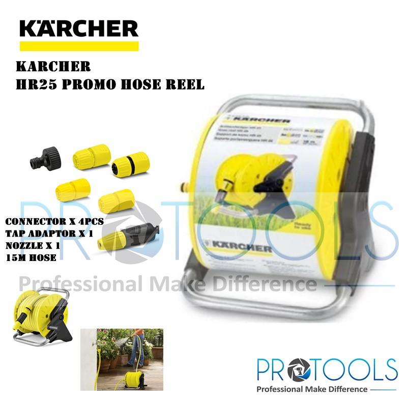 KARCHER HOSE REEL HR25 PROMO