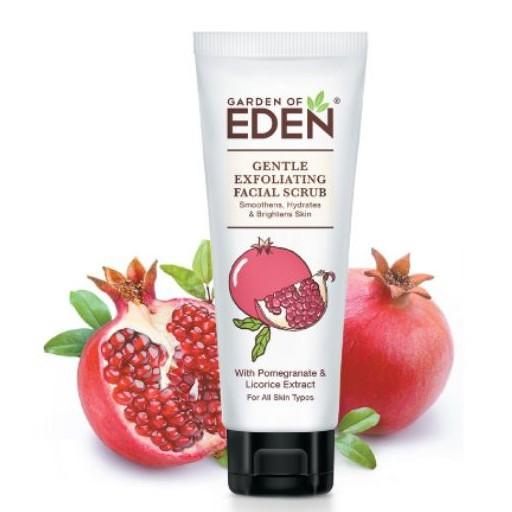 Garden of Eden Gentle Exfoliating Facial Scrub 75mL