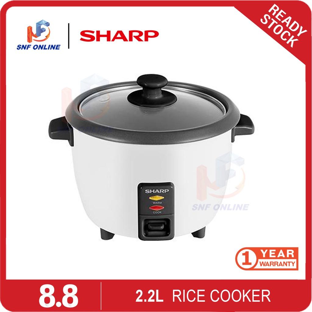 Sharp Rice Cooker (2.2 L) KSH228SPK KS-H228S-PK