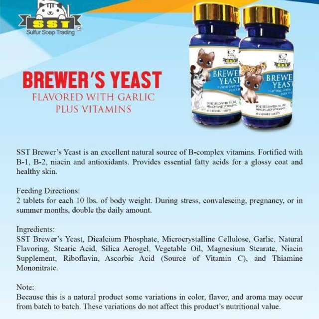 SST Brewer Yeast For Dog n Cat