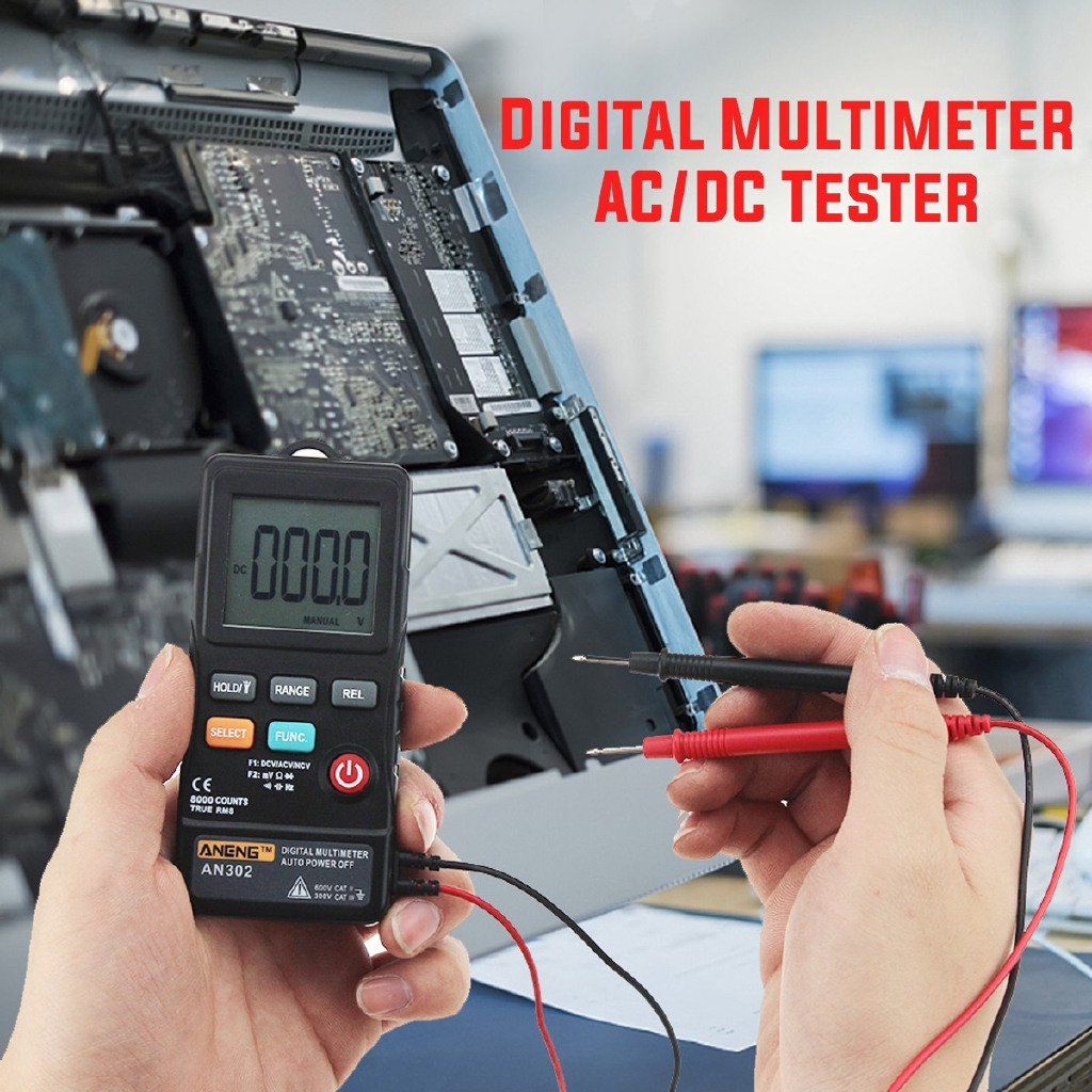 Hp 38b Digital Pen Type Multimeter Ac Dc Voltage Amp Ohm Wholesale Multifunctional Circuit Tester Detector Continuity Shopee Malaysia