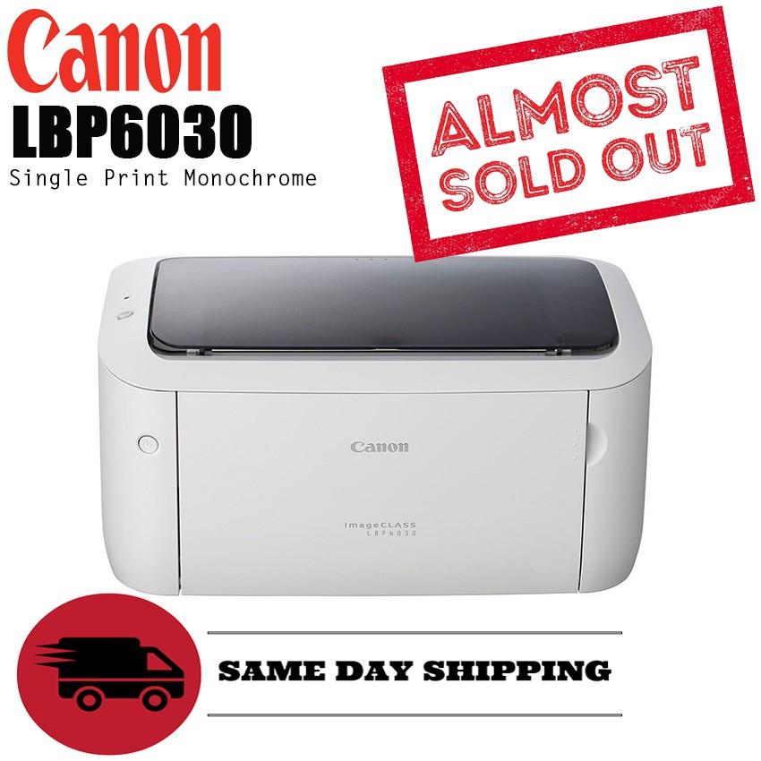 Canon LBP6030 single function monochrome printer like hp P1102