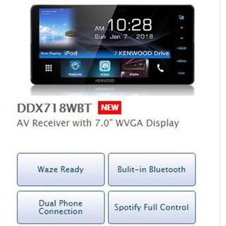 Kenwood DDX7018BT 7