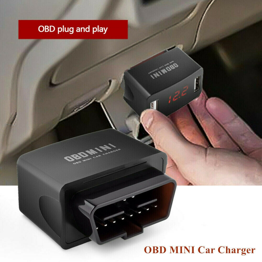 Driving recorder OBD buck line Parking monitoring 12-24v to 5v low voltage prote