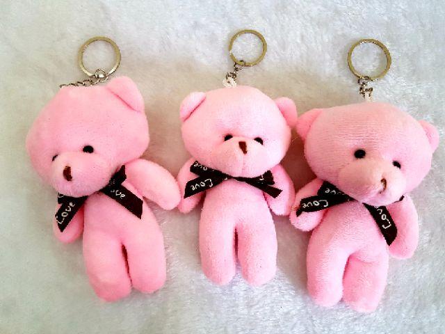 🐻 Teddy Bear Key Chain / Key Chain Beruang (1 pcs) * 13cm x 8cm* 🐻