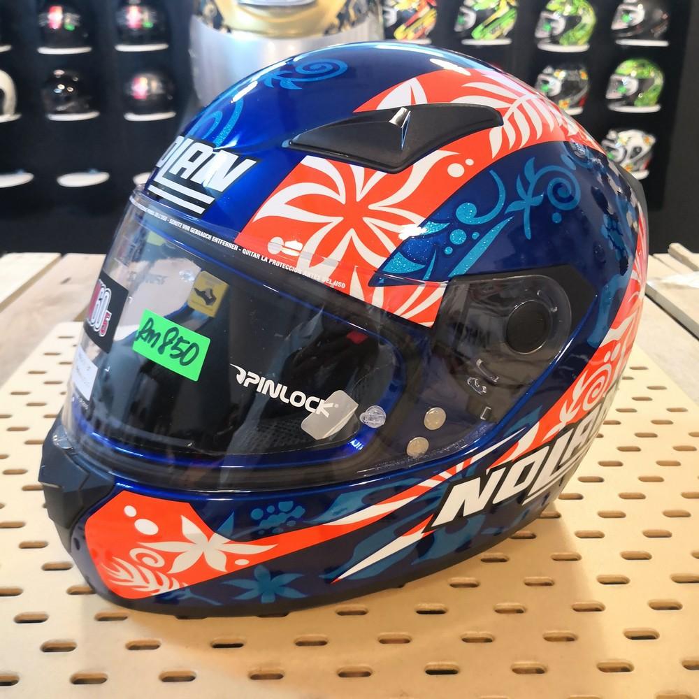 N-64 Helmet Nolan N64 D.Petrucci Replica Full Face Motorcycle Helmet
