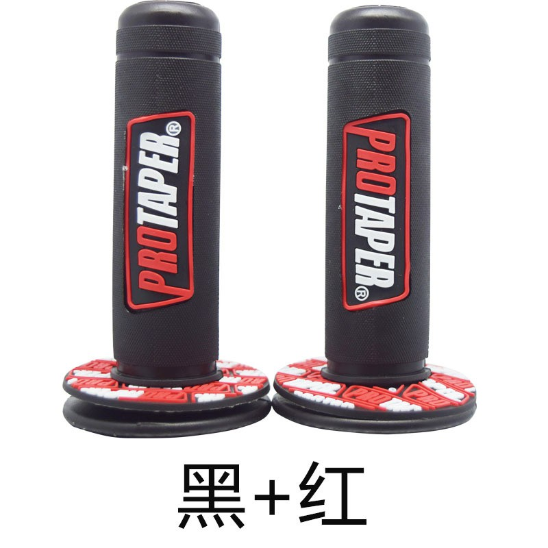 NEW PRO TAPER DUAL DENSITY GRIPS MOTOCROSS WITH GRIP GLUE