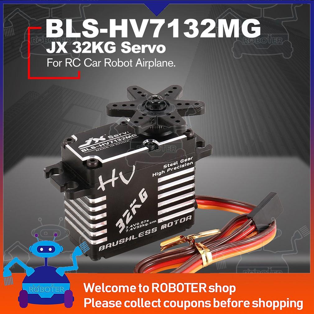 JX BLS-HV7132MG 32KG Metal Steer Digital Gear HV Brushless Servo for RC Car