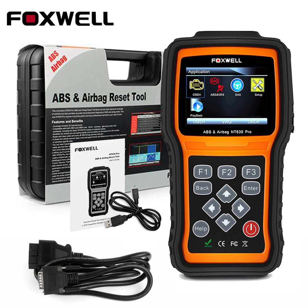 Automotive Scan Tool >> Foxwell Nt630 Obd Automotive Scanner Car Diagnostic Tool Obd2 Scanner Abs Srs