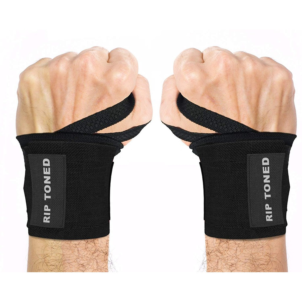 Super Rip Toned Wrist Wraps 18 Professional Grade With Thumb Loops Home Interior And Landscaping Ologienasavecom