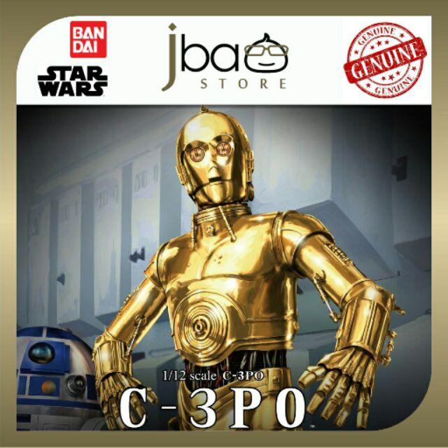 Bandai Star Wars 1/12 C-3PO Protocol Droid 4543112964182 model kit birthday