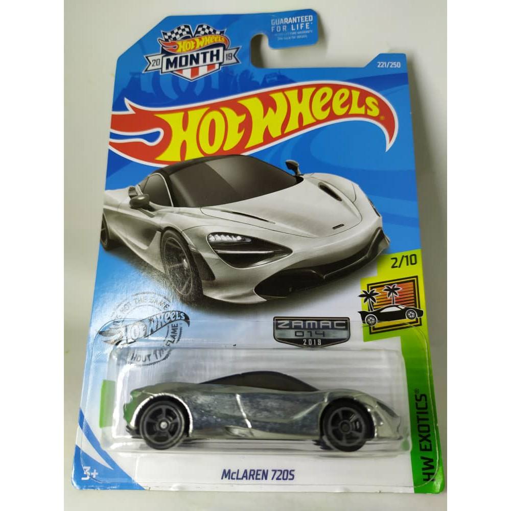 Hot Wheels Long Card 221//250 McLaren 720S