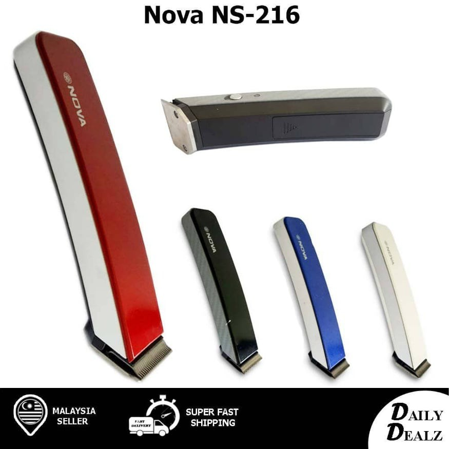 SONAR/NOVA Professional Hair Trimmer Clipper Shaver Head Nose Beard 3IN1 SN-5802/NS 216