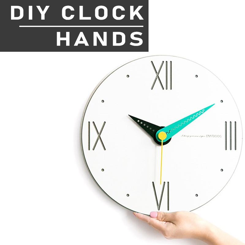 29cm Wall Clock Colorful Hands DIY Jam Dinding Putih Minimalis /Suzuki Silent Movement/Premium/Office Clock