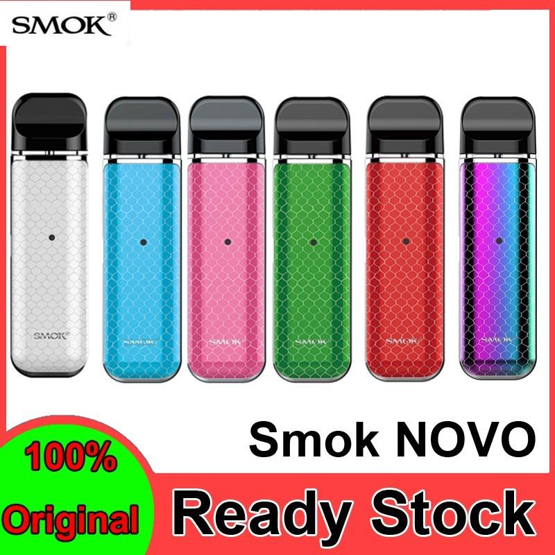 SMOK Novo Kit Vaping Starter Electronic Cigarette Vape Pen 2ml Pods ready  stock