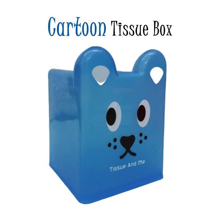 MALAYSIA: BEKAS TISU KARTUN Plastic Tissue Box Creative Cute Cartoon