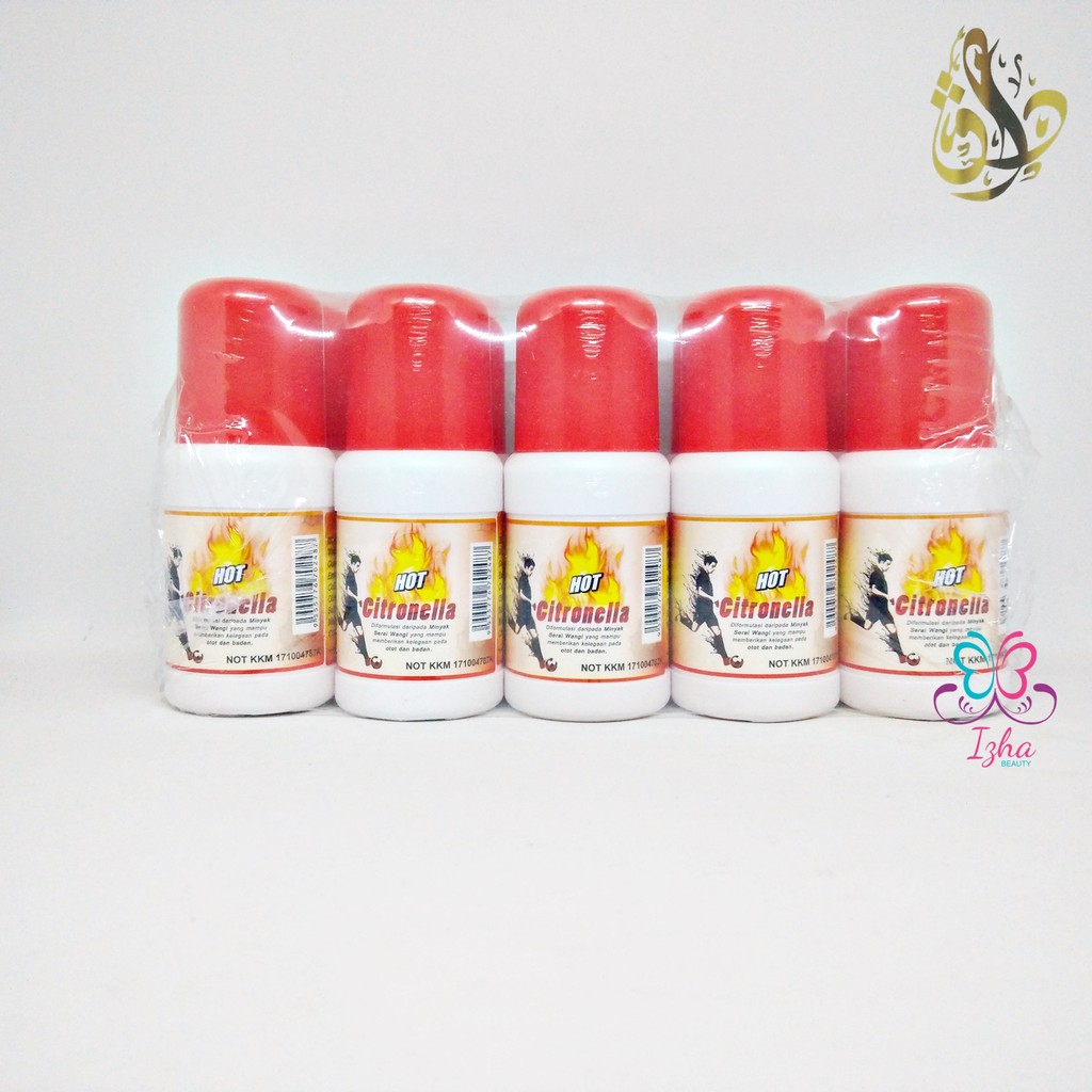 [D'EMBUN PAGI] 10x Hot Citronella - 85ml