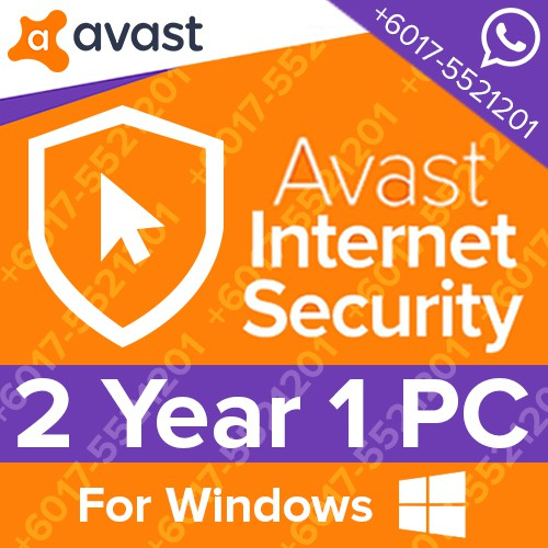 avast internet security (1 pc 2 years)