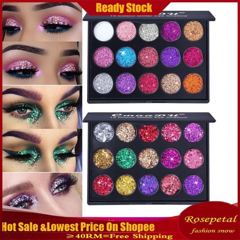 Shimmer Glitter Eye Shadow Powder Palette Matte Eyeshadow Cosmetic Makeup Cosméticos