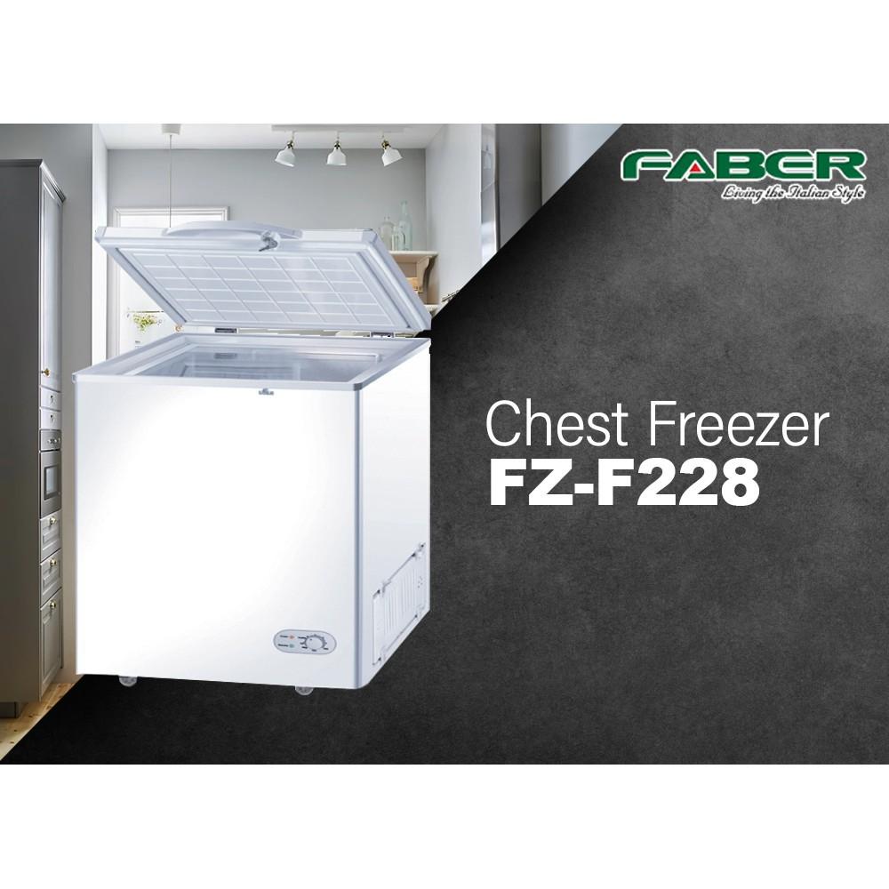 Faber New 200L (FZ-F228) Chest Freezer with Key Lock