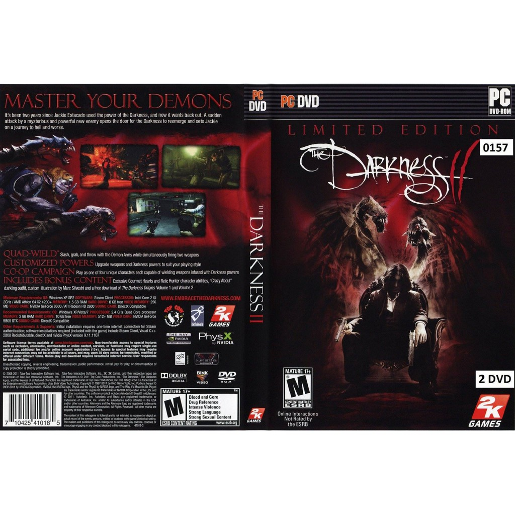 (PC) The Darkness 2