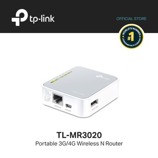 TP-Link TL-MR3020 Portable 3G/4G Wireless N Router+N150+