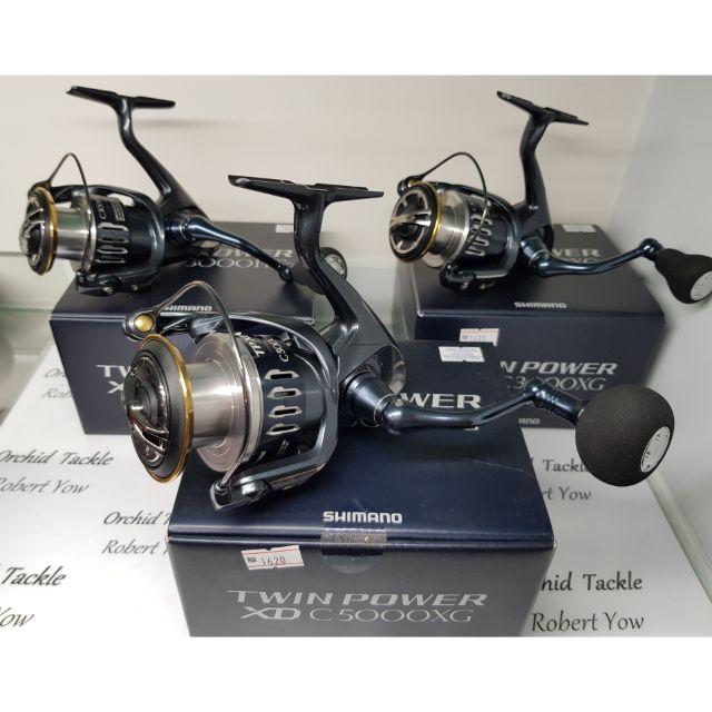 Shimano Twin Power XD C3000HG C4000XG C50000XG fishing reel