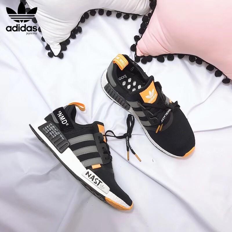 Off White Adidas NMD NAST originals nmd Boost Cushioning PRIMEKNIT running shoes