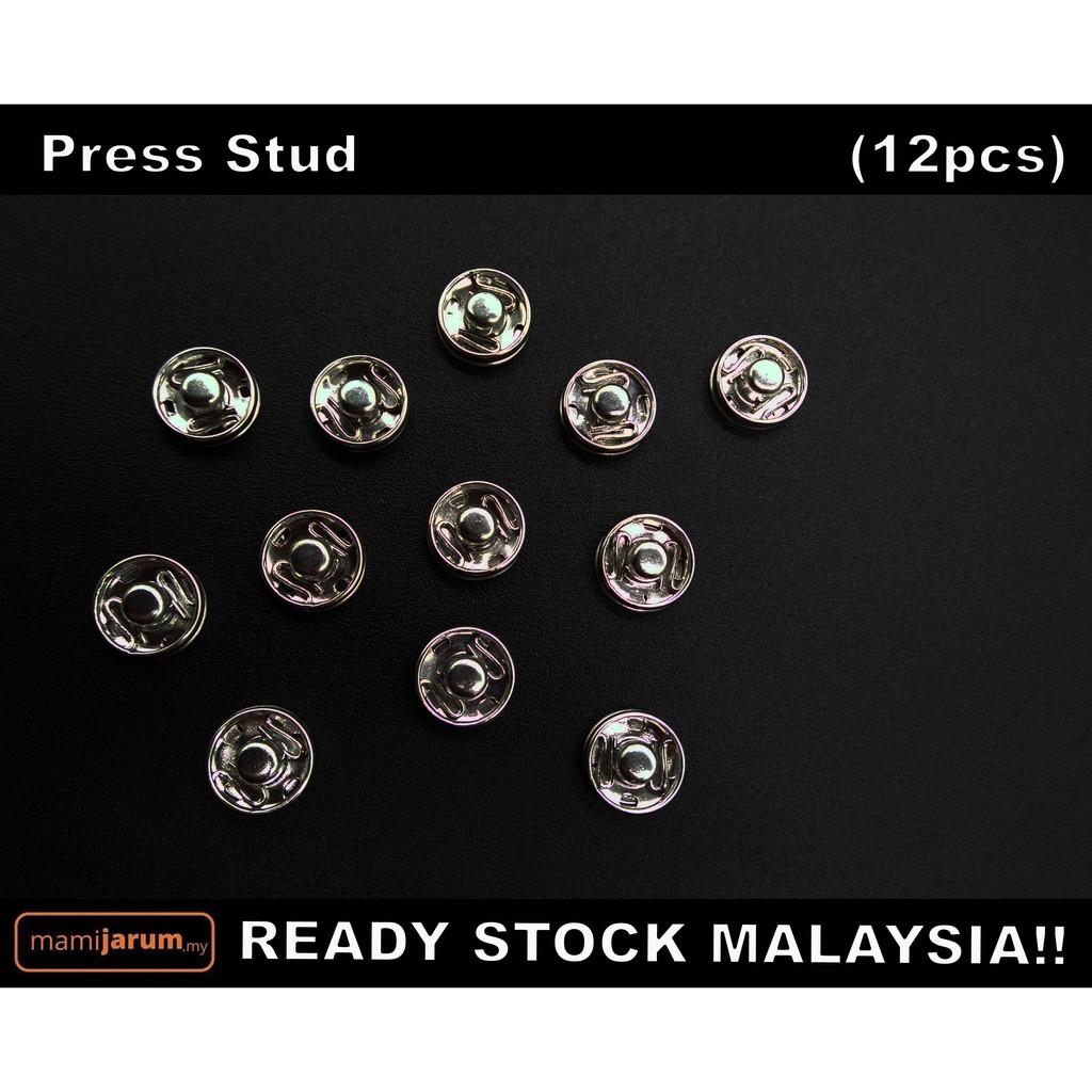 Press Stud (50pcs) - READY STOCK MALAYSIA